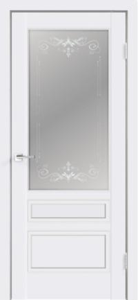 Дверь Scandi 3V, белый RAL 9003