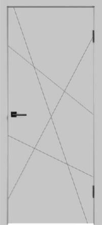 Дверь Scandi S, светло-серый