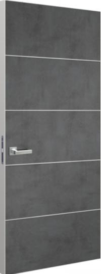 Дверь Schlager Tokyo М4, лофт темный
