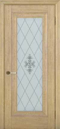 Дверь Pascal 1, дуб натуральный ПО