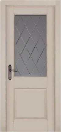 Дверь Элегия ольха КРЕМ