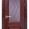 Дверь Классика № 5 дуб структур. АНТИЧНЫЙ ОРЕХ