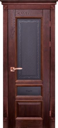 Дверь Аристократ № 3 дуб структур. МАХАГОН