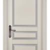 Дверь Валенсия ольха БЕЛАЯ ЭМАЛЬ патина серебро