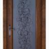 Дверь Витраж ольха ВЕНГЕ