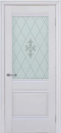 Дверь Dominik, белый матовый ПО