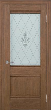 Дверь Dominik, каштан ПО
