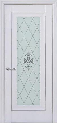 Дверь Pascal 1, белый матовый ПО