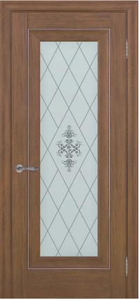 Дверь Pascal 1, каштан ПО