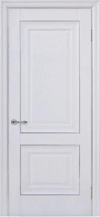 Дверь Pascal 2, белый матовый ПГ
