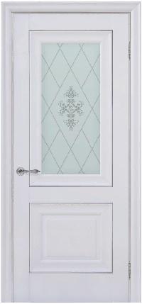 Дверь Pascal 2, белый матовый ПО