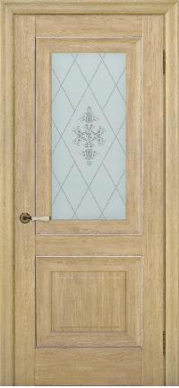 Дверь Pascal 2, дуб натуральный ПО