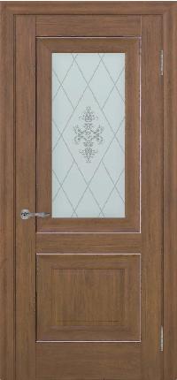 Дверь Pascal 2, каштан ПО