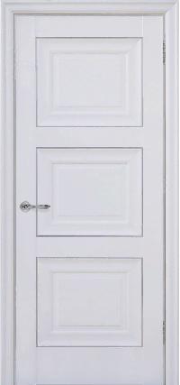 Дверь Pascal 3, белый матовый ПГ
