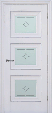 Дверь Pascal 3, белый матовый ПО