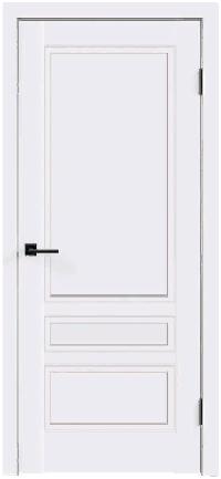 Дверь Scandi 3P, белый RAL 9003