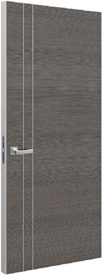 Дверь Schlager Tokyo М2, дуб серый