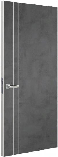 Дверь Schlager Tokyo М2, лофт темный