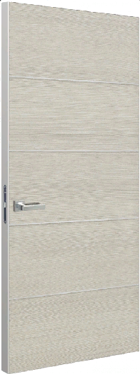 Дверь Schlager Tokyo М4, дуб молочный