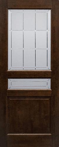 Дверь Валенсия АНТИЧНЫЙ ОРЕХ ПОС
