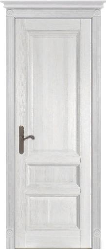 Дверь Аристократ № 1 ольха БЕЛАЯ ЭМАЛЬ