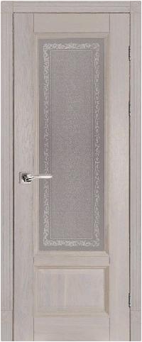 Дверь Аристократ № 4 ольха ГРЕЙ