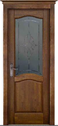 Дверь Лео структур. АНТИЧНЫЙ ОРЕХ