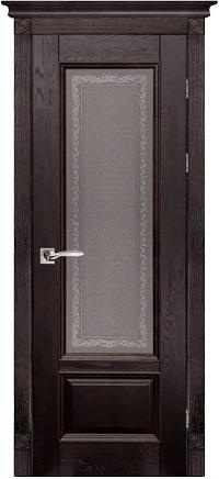 Дверь Аристократ № 4 ольха АНТИЧНЫЙ ОРЕХ