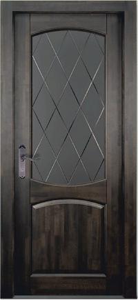 Дверь Барроу ольха ВЕНГЕ