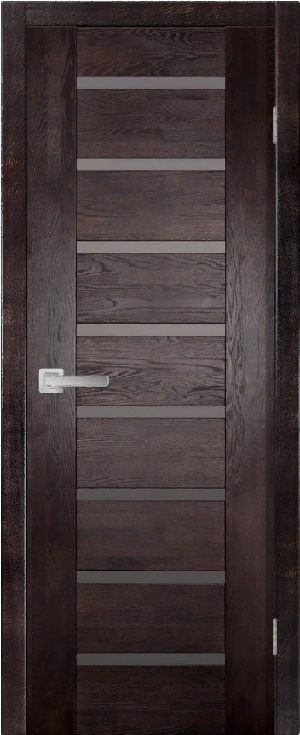 Дверь Хай-Тек № 3 дуб структур. АНТИЧНЫЙ ОРЕХ