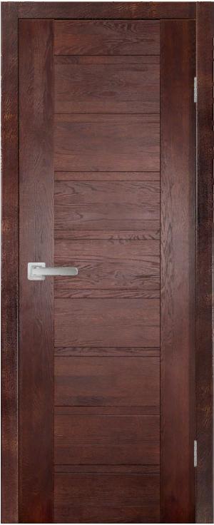 Дверь Хай-Тек № 4 дуб структур. МАХАГОН