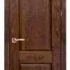 Дверь Классика № 4 дуб структур. АНТИЧНЫЙ ОРЕХ