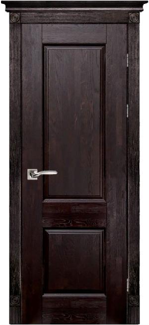 Дверь Классика № 1 дуб структур. ВЕНГЕ
