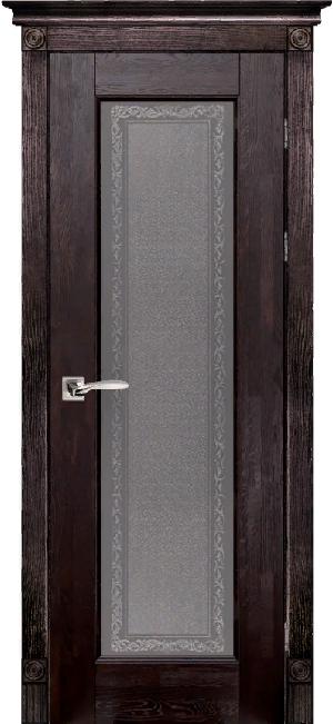 Дверь Классика № 3 дуб структур. АНТИЧНЫЙ ОРЕХ