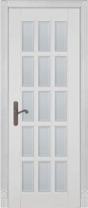Дверь Лондон-2 дуб структур. АНТИЧНЫЙ ОРЕХ