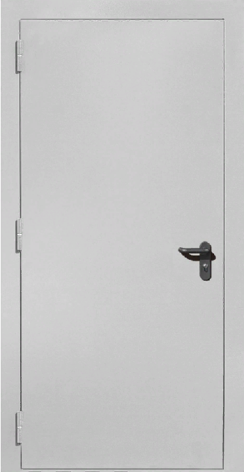 Противопожарная дверь ДПМ 01 EIS 60 RAL 7035-серый