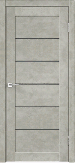 Дверь LOFT 1 бетон светлый