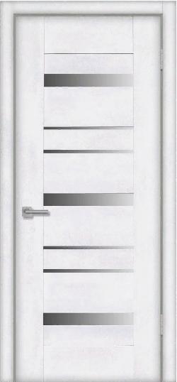 Дверь Mistral 8S, лофт белый