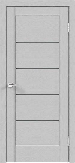 Дверь PREMIER 1 грей эмалит текстур.