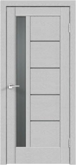Дверь PREMIER 3 грей эмалит текстур.