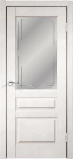 Дверь VILLA 3V эмалит белый